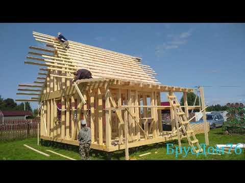 Строительство каркасного дома под ключ в Ярославской области