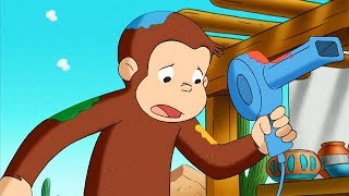 Curious George 🐵 George Paints The Desert 🐵 Kids Cartoon 🐵 Kids Movies 🐵 Cartoons for Kids