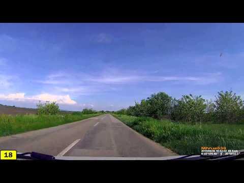 Driving in Serbia. Road 18: Zrenjanin - Vršac  (Timelapse 4x)