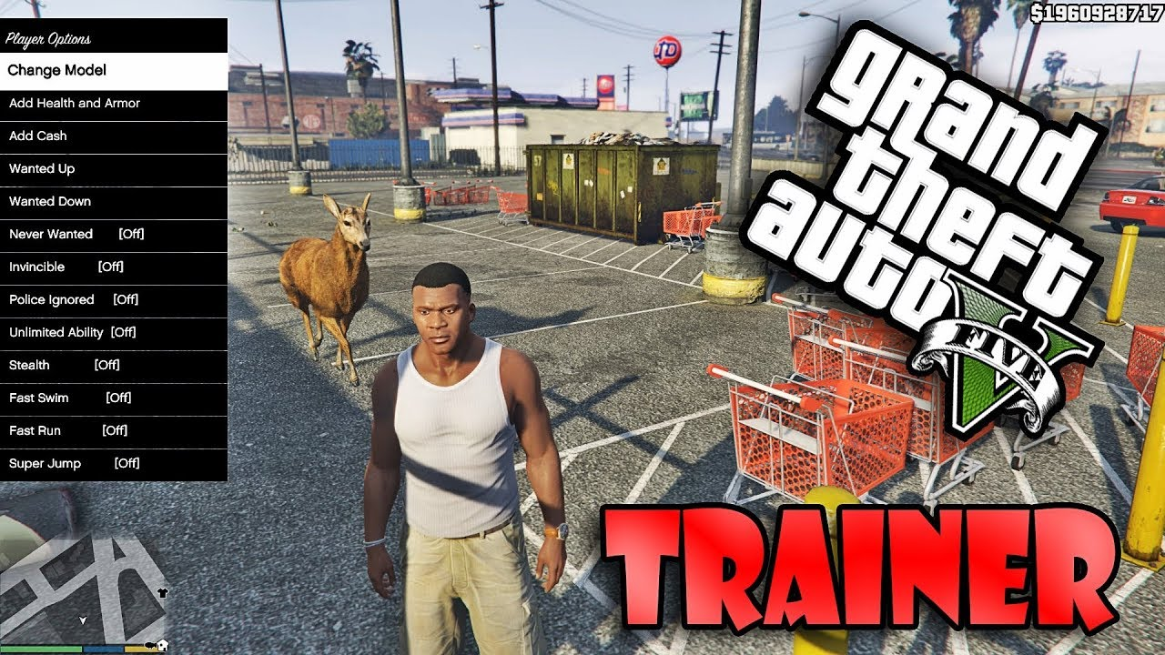GTA5 Native Trainer without NumPad 2017 PC
