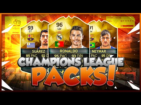 SPECIAL TOTGS CHAMPIONS LEAGUE PACK OPENING! FIFA 16 ULTIMATE TEAM
