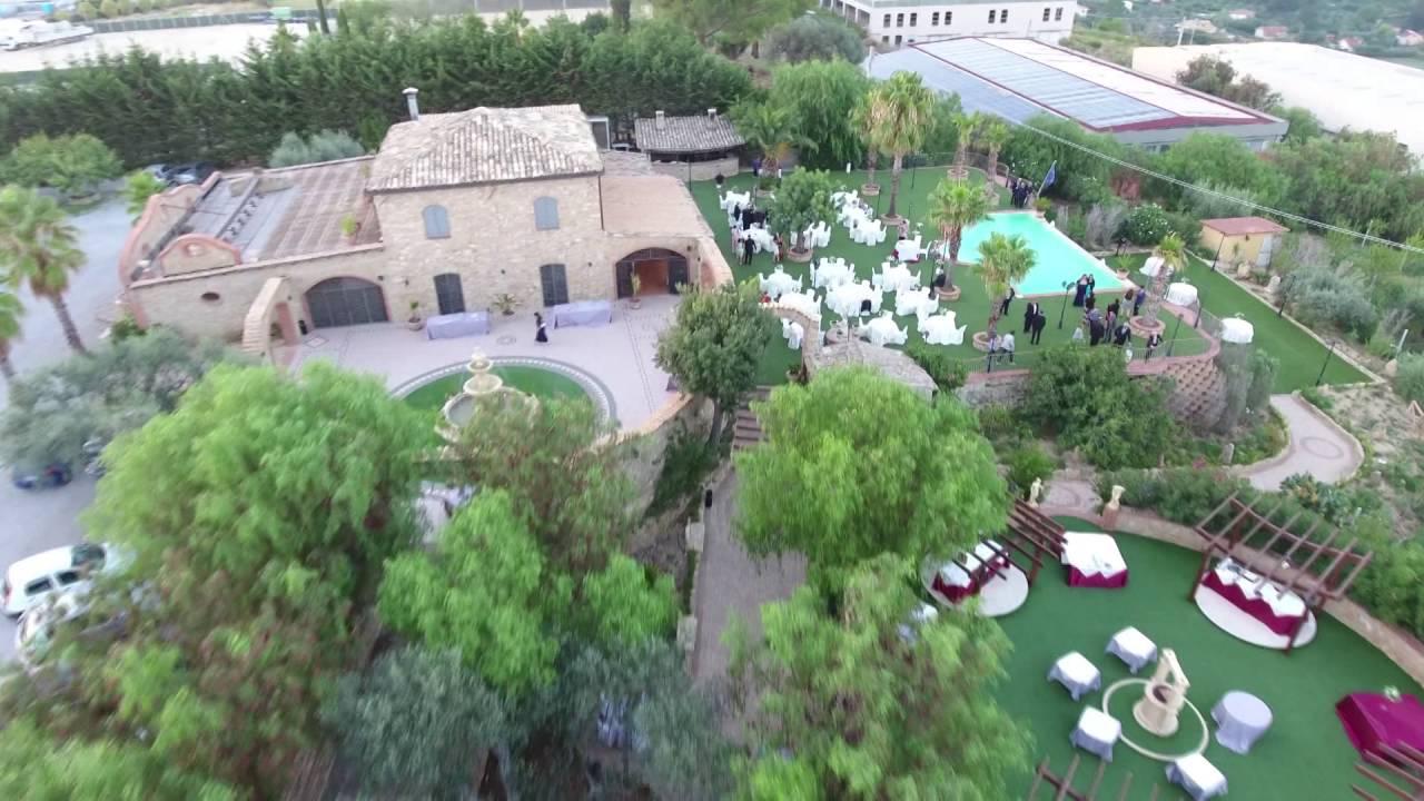 Parco dei principi caltanissetta sala ricevimenti youtube for Villa isabella caltanissetta
