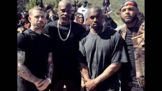 Kanye West & DMX - Skyscrapers ft. Bono (Full Version)