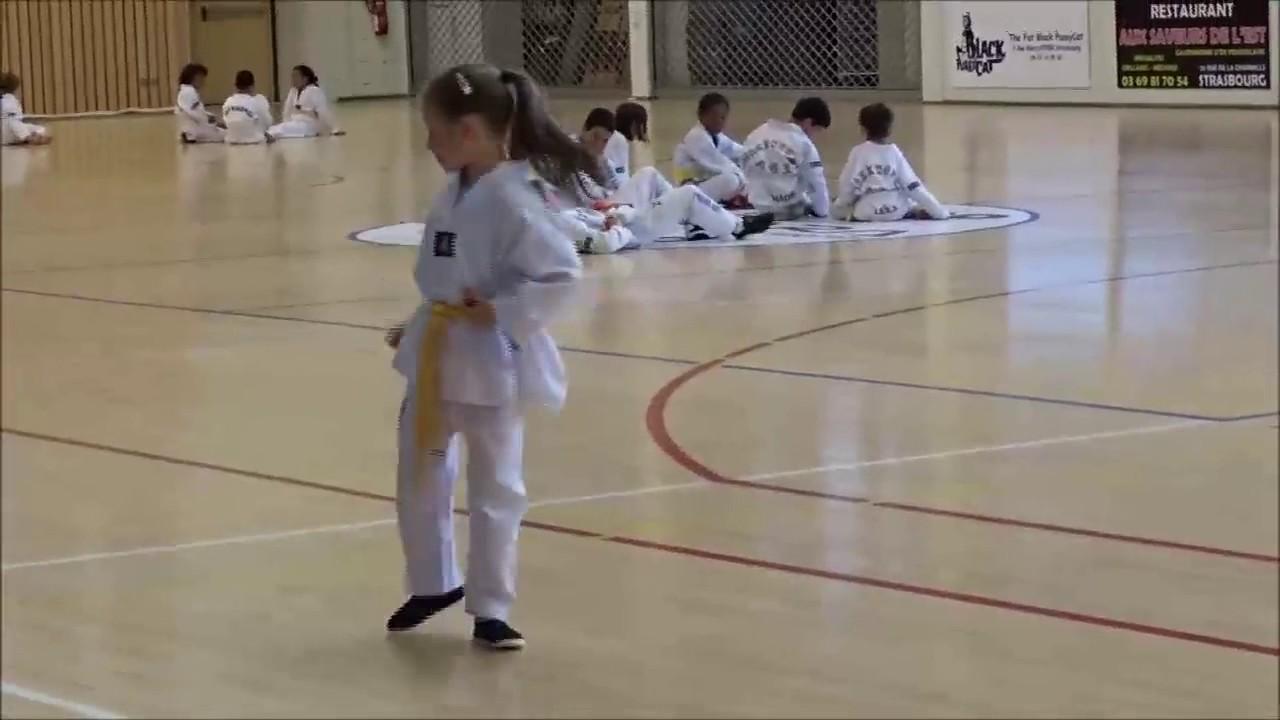 passage de grade taekwondo enfant juin 2017 strasbourg
