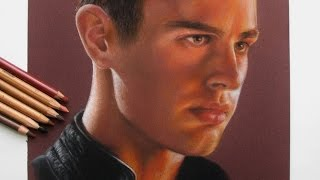 Drawing Theo James / Four in Divergent