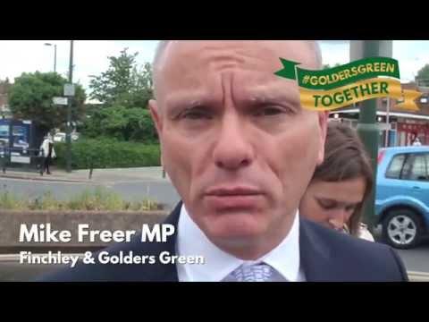 #GoldersGreenTogether - Mike Freer, Julie Siddiqui, Marie Van Der Zyl