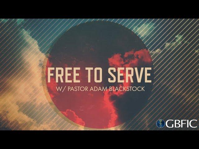 I'm Free | Pastor Adam Blackstock