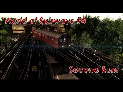 World of Subways 4 - Second Run! | Times Square to Flushing Main Street
