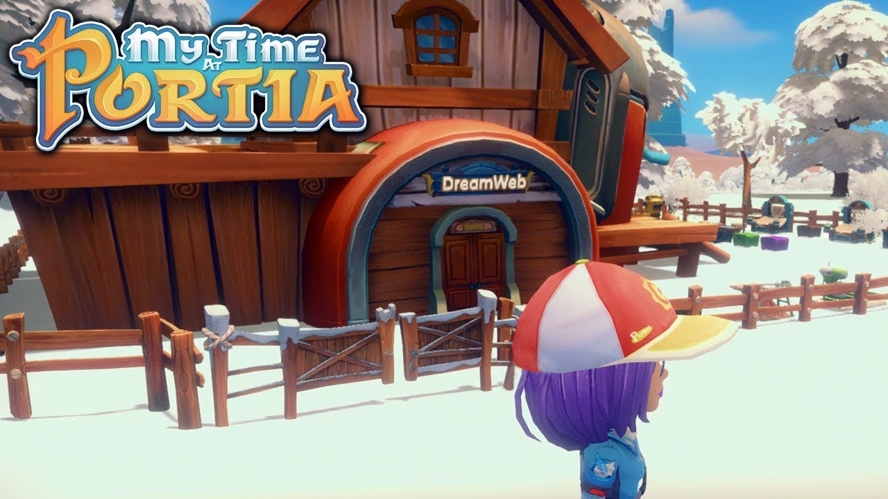 House Upgrade!! - My Time at Portia (Alpha 3.72) – Part 47 - YouTube