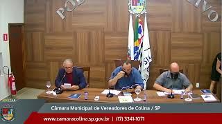 Câmara Municipal de Colina - 1ª Sessão Extraordinária 11/01/2021