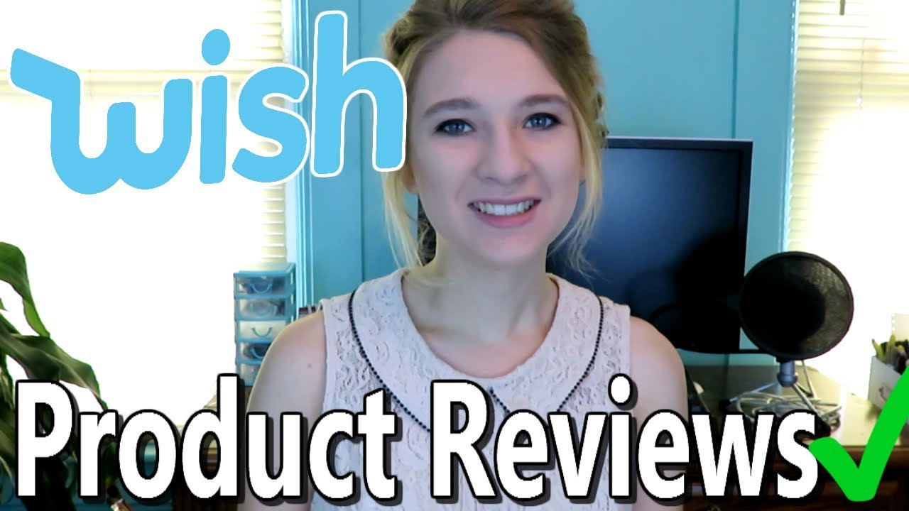 Reviewing Wish App Products Is The Site Legit Youtube