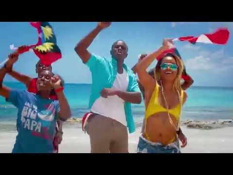 BRANDON BROWNE  - 268 I LUV ANTIGUA  (OFFICIAL MUSIC VIDEO)