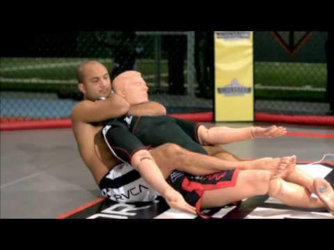 BJ Penn chokes out host on Sport Science