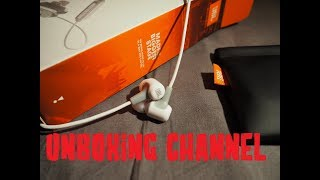 Unboxing Bluetooth Earbuds JBL E25BT -White (SK/CZ)