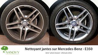 nanovy activ wheel cleaner mercedes benz e350 amg