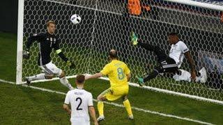 германия - Украина 2:0 Евро 2016 ЛУЧШИЙ ОБЗОР МАТЧА 12.06.2016