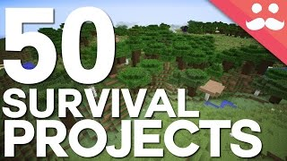 50 Projects For Your Minecraft Survival Worlds! thumbnail