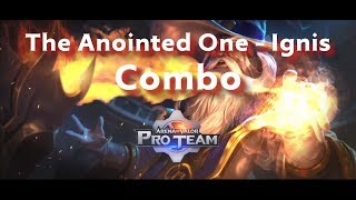 Ignis - Combo Tutorial | Arena of Valor