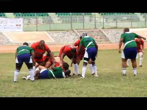 RUGBY AFRICA BRONZE CUP 2018 - LESOTHO VS MAURITIUS 1/2