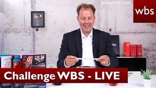 Challenge WBS - LIVE 🔴 | Rechtsanwalt Christian Solmecke