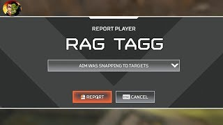 I WAS REPORTED FOR CHEATING IN APEX LEGENDS