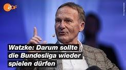 Watzke verteidigt Konzept zum Bundesliga-Restart | Markus Lanz – ZDF