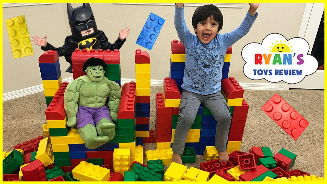 GIANT LEGO BUILDING CHALLENGE FOR KIDS  Lego Batman Superhero IRL     GIANT LEGO BUILDING CHALLENGE FOR KIDS  Lego Batman Superhero IRL   Family  Fun Playtime with toys    YouTube