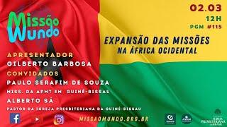 Missao Mundo #W9_21-115 Missoes na Africa Ocidental