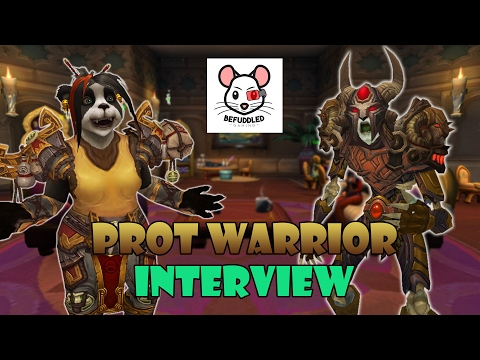 Interview with a Protection Warrior - Befuddled Gaming