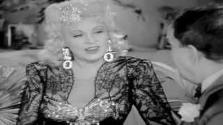 Stunning MAE WEST sexy dancing 1940