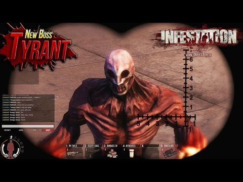 Infestation: Thailand ~ New Super Zombie 'TYRANT' - Caliwood