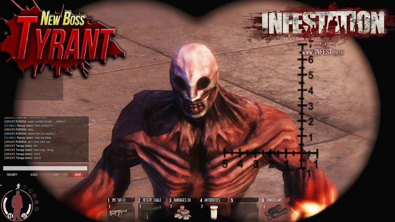 "Infestation: Thailand ~ New Super Zombie ""TYRANT ..."