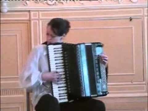 D.Scarlatti. SONATA (accordeon - Nataly Potapenko)
