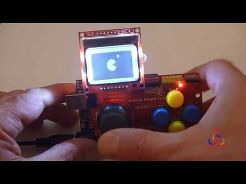 Creating a Basic Game for Arduino Joystick Gamepad with Nokia 5110 LCD