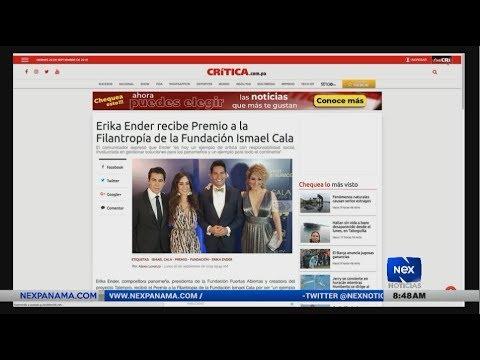 Farándula Nex Noticias: Erika Ender recibe Premio de la Fundación Ismael Cala