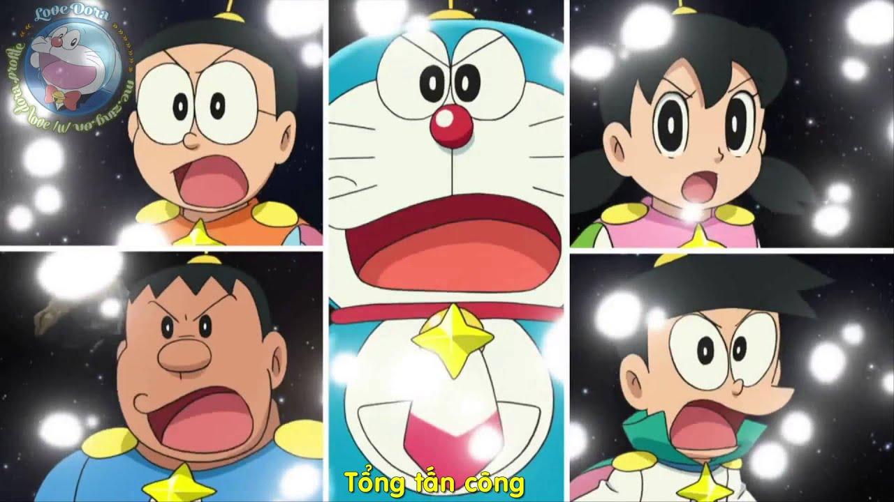 Eiga Doraemon 2015 Trailer: Nobita và Vũ Trụ Anh Hùng Ký