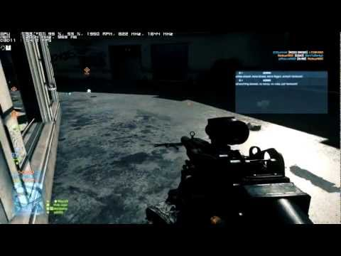 Battlefield 3 multiplayer gameplay Core i5-2500 with GTX 560 TI