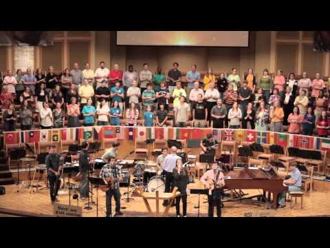 FORT HARMON BAND - Lift High the Name of Jesus (Gettys)