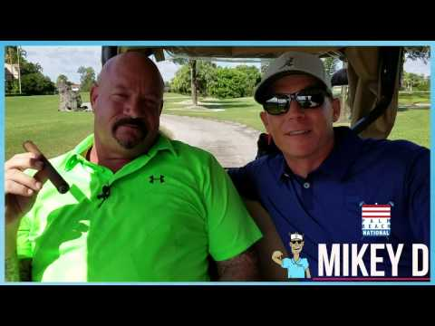 Larry Lawton interviewed by Mikey D at Palm Beach National Golf Club