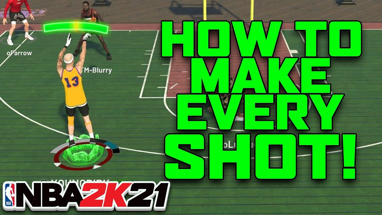 NBA 2K21: How to Make Every Shot! How to Shoot! Shot Meter Tutorial!