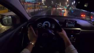 Mazda 6 III Night   4K POV Test Drive