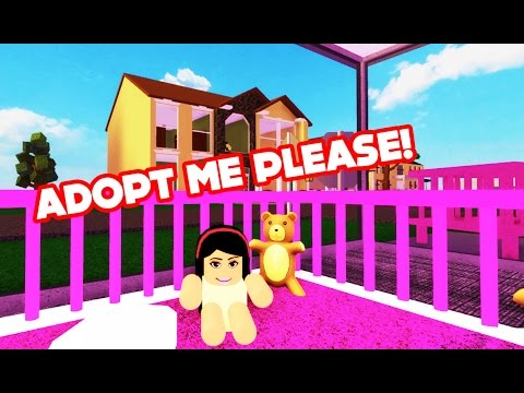 ADOPT ME PLEASE?! - Roblox