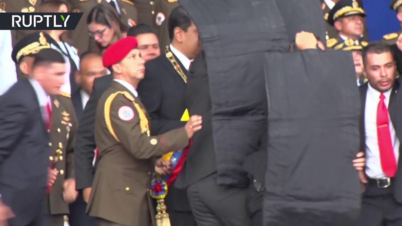 نجاة رئيس فنزويلا من محاولة اغتيال