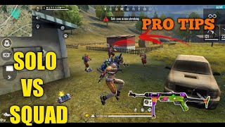 FREE FIRE | RANK PRO TIPS AND TRICKS  KILL FREE FIRE | KILL ALL WITH MP40