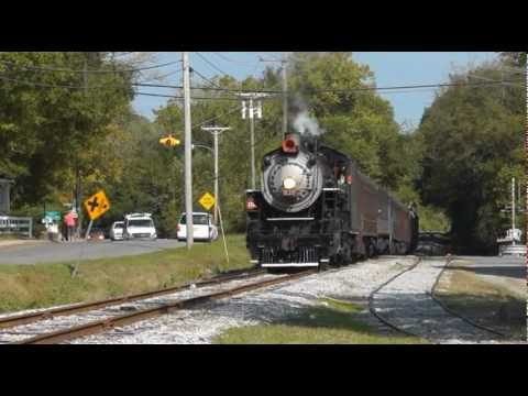Tennessee Valley Railroad Steam all the Way 10/13/2012, part 1