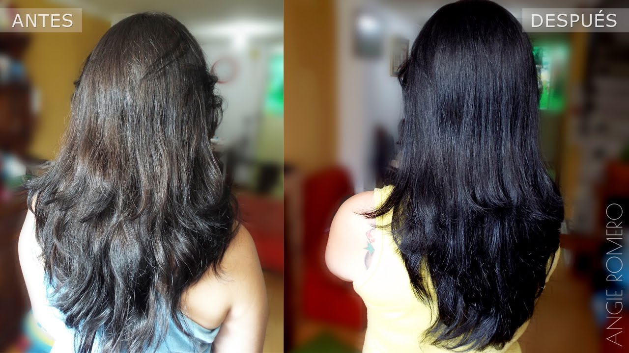 Tintes naturales para tenir cabello negro