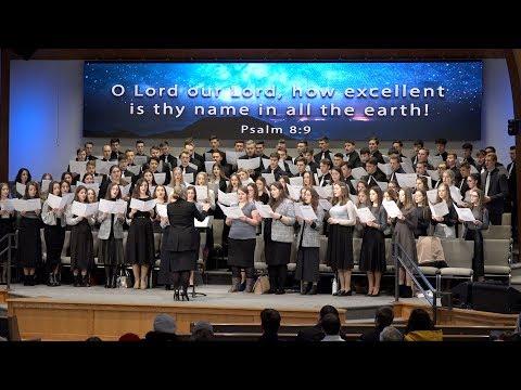 Неділя,12 січня 2020. Вечірнє Богослужіння за участю молодіжного хору з церкви Спасение, Edgewood WA