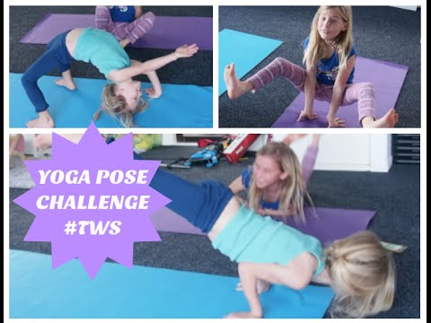 yoga challenge  with the witherington sisters part 1