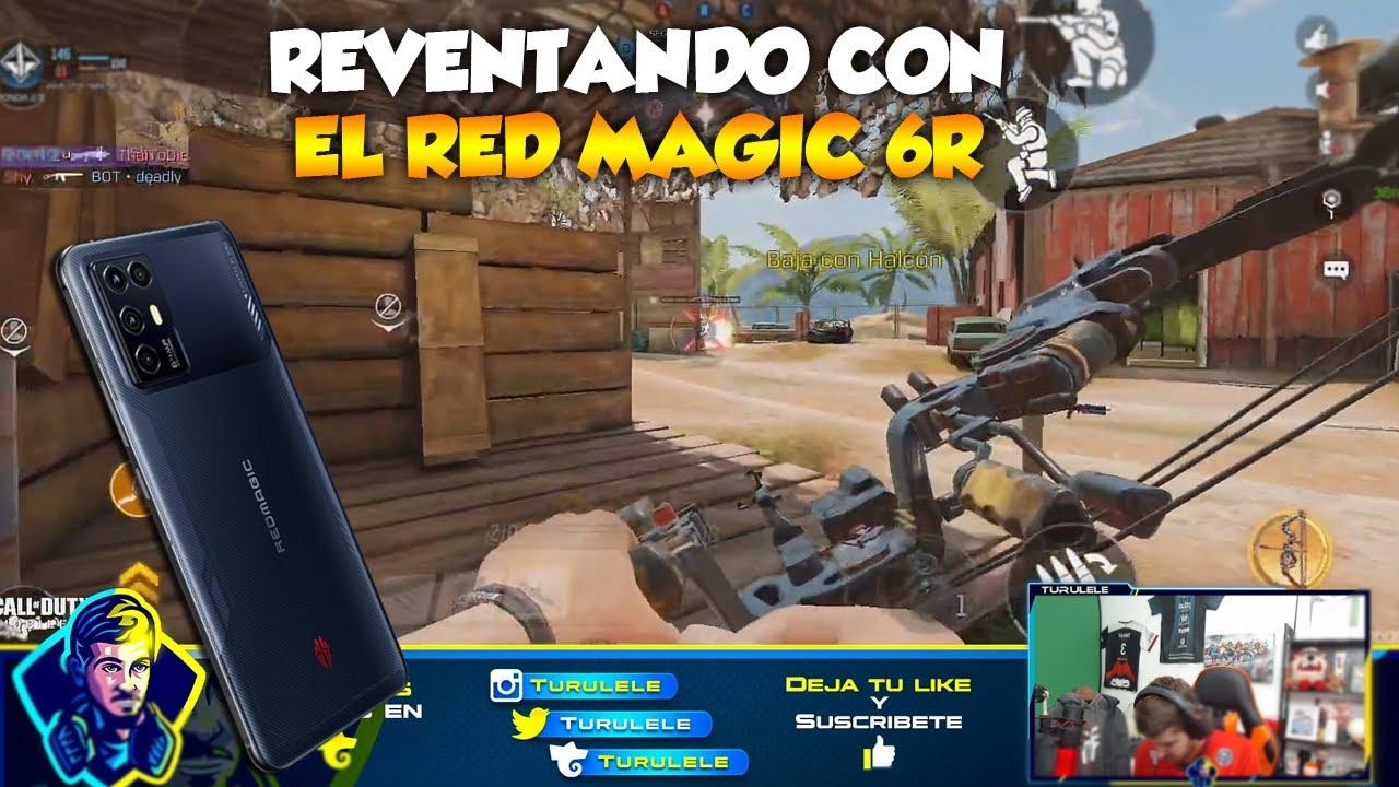 REVENTANDO CON EL NUEVO RED MAGIC 6R