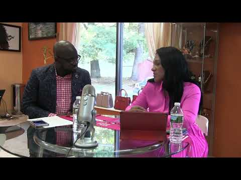 PINK FOR AFRICA INTERVIEW BY NANA SARPONG ON MYSTAR RADIO IN NEW JERSEY
